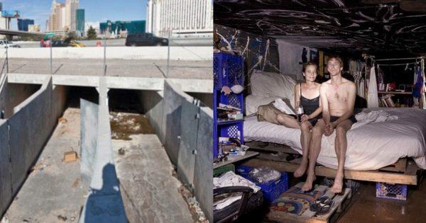 Οι άνθρωποι των υπονόμων: Η υπόγεια ζωή των κατοίκων μιας ολόκληρης πόλης  που βρίσκεται κάτω απ'το Λας Βέγκας - TrikalaView